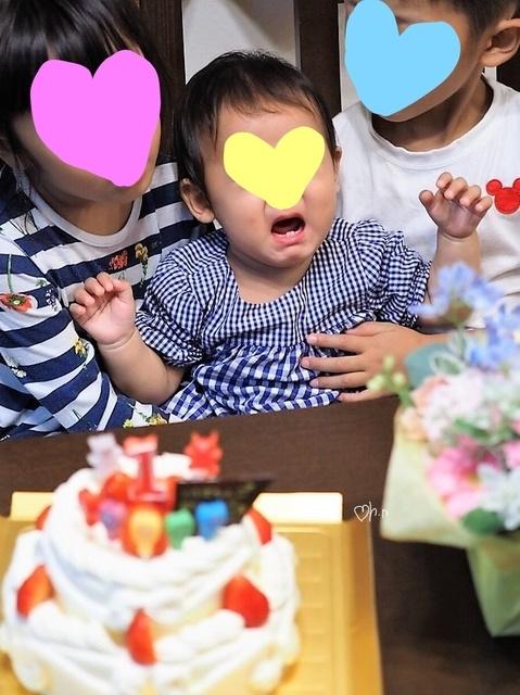初めての1歳の誕生日